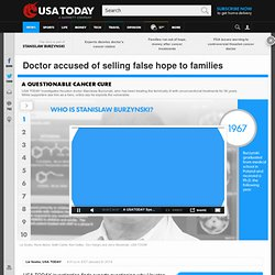 Doctor accused of selling false hope to families