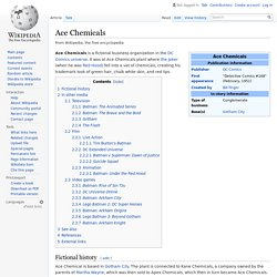 Ace Chemicals - Wikipedia