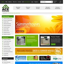 Cheap Sheds for sale & Custom Made Sheds | ACE Sheds