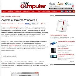 Acelera al maximo Windows 7