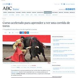 Curso acelerado para aprender a ver una corrida de toros