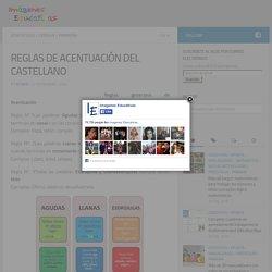 REGLAS DE ACENTUACIÓN DEL CASTELLANO - Imagenes Educativas