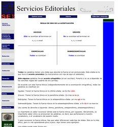 Acentuación Servicios Editoriales/Enseñanza