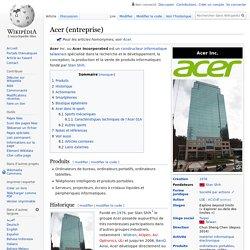 Acer (entreprise)