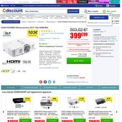 ACER H5380BD Vidéoprojecteur DLP 720p HDMI MHL - vidéoprojecteur, avis et prix pas cher