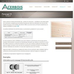 ACERBOIS / Marquage CE