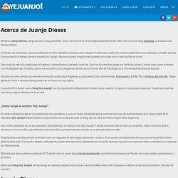 Acerca de Juanjo Dioses