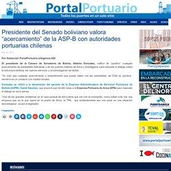 """Presidente del Senado boliviano valora """"acercamiento"""" de la ASP-B con autoridades portuarias chilenas - Portal Portuario"""