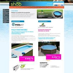 Loja Aquashop - acessórios limpeza equipamentos produtos para piscinas água verde spas