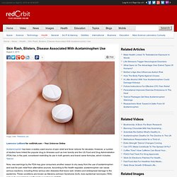 Acetaminophen Linked To Serious Skin Disease - Health News