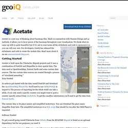 Acetate | GeoIQ Developer