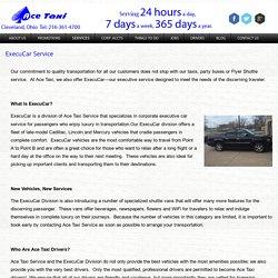 ExecuCar Services of Ace Taxi Service Inc.