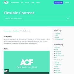 Flexible Content