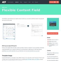 Flexible Content Field