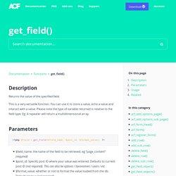 get_field()