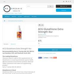ACG Glutathione Extra Strength 4oz
