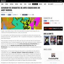 Acharam os Disquetes de Arte Esquecidos do Andy Warhol