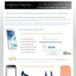 Achat en ligne UV Loca Kit Vitre Ecran LCD Samsung iPhone