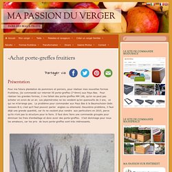 -Achat porte-greffes fruitiers