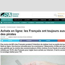 Achats en ligne: les Français ont toujours...
