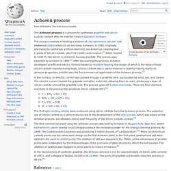 Acheson process