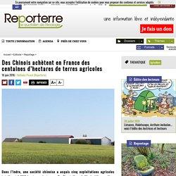Des Chinois achètent en France des centaines d'hectares de terres agricoles