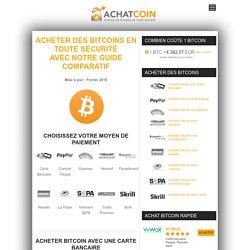 Acheter Bitcoin : guide 2016 pour Achat de bitcoin