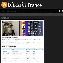 Où acheter des bitcoins ?