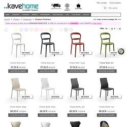Acheter chaises salle à manger en ligne - Magasin meubles en ligne – Kavehome. fr