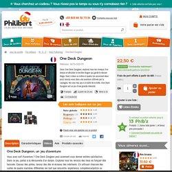 Acheter One Deck Dungeon - Jeu de société - Nuts Publishing