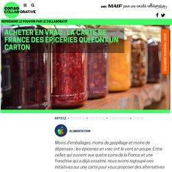 Acheter en vrac : la carte de France des épiceries qui font un carton