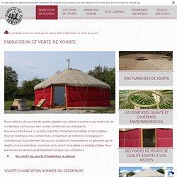 Buy a residential or leisure yurt - La Frenaie