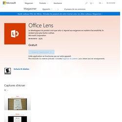 Acheter Office Lens - Microsoft Store Canada