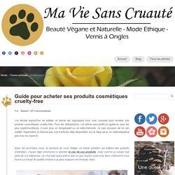 Guide pour acheter ses produits cosmétiques cruelty-free