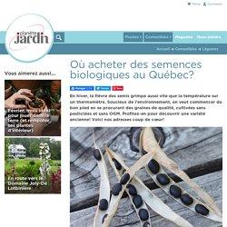 Où acheter des semences biologiques au Québec?