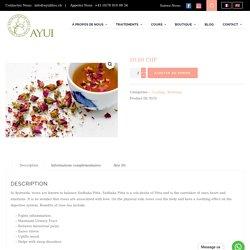 Achetez du thé à la rose biologique en ligne Suisse
