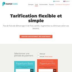Prix bas – Achetez un flip book PDF sans frais initiaux – Essai gratuit pendant 14 jours