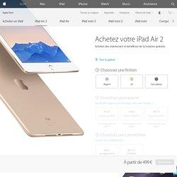 Achetez le nouvel iPad Air 2