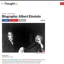 The Life and Achievements of Albert Einstein
