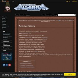 Achievements - Binding of Isaac: Rebirth Wiki