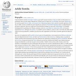 Achille Testelin