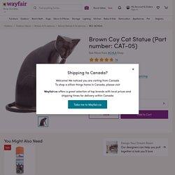 ACHLA Coy Cat Statue