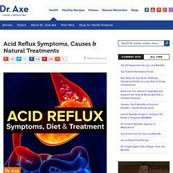 Acid Reflux Symptoms, Diet & Treatment - Dr. Axe