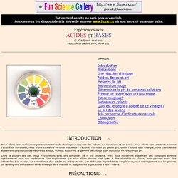 Acides et Bases
