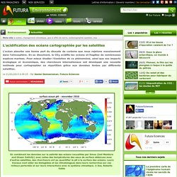 L'acidification des océans cartographiée par les satellites