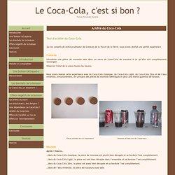 Acidité du Coca-Cola - Le Coca-Cola, c'est si bon ?