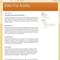 ENO For Acidity: Alleviation from morning acid reflux