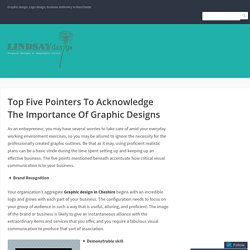 Top Five Pointers To Acknowledge The Importance Of Graphic Designs
