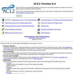 ACL2 Version 4.3