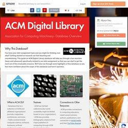ACM Digital Library (Allyson)